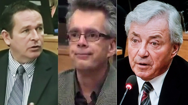 Yves Themens, Francois Theriault and Gilles Vezina, municipal civil servants who testified at the Charbonneau Commission, had their fates decided Friday.