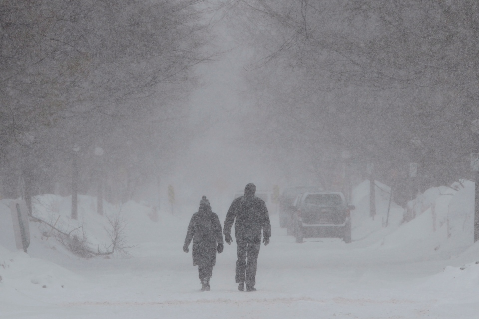 Feb   Blizzard Kitchener Waterloo