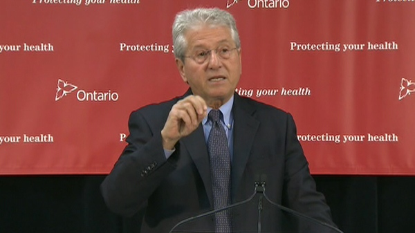 Liberal MP Michael Colle speaks to reporters during a press conference in Toronto, Monday, Jan. 11, 2011.