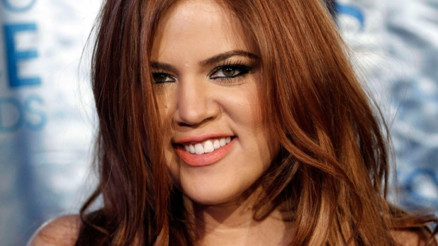 Khloe Kardashian arrives at the People's Choice Awards on Wednesday, Jan. 5, 2011, in Los Angeles. (AP / Matt Sayles)