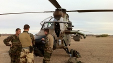Most Canadians against sending troops to Mali