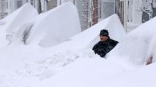 Snow in eastern U.S.