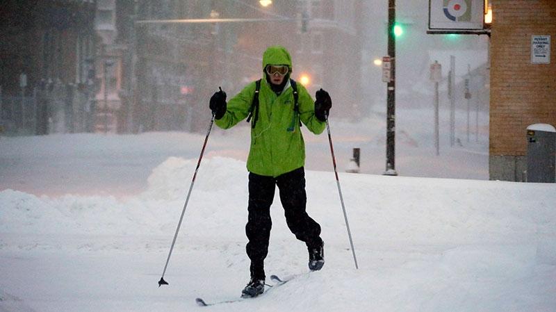 Heavy snow in eastern U.S.