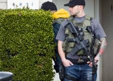Manhunt resume for fomer L.A. police officer