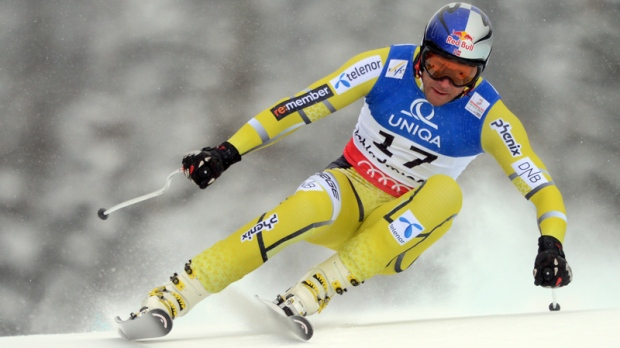Svindal win's men's downhill title