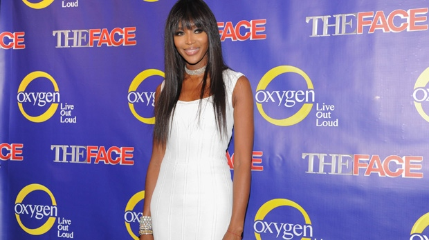 Naomi Campbell talks about series 'The Face'