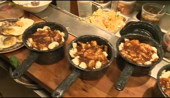Montreal wrapped up its first ever Poutine Week on Saturday, Feb. 9, 2013.