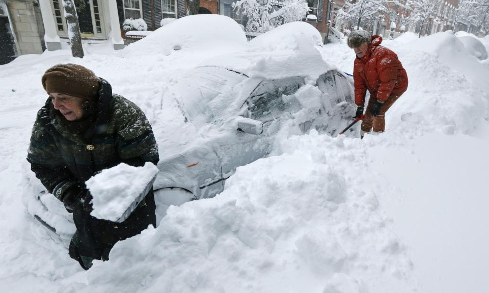 Snow in U.S.