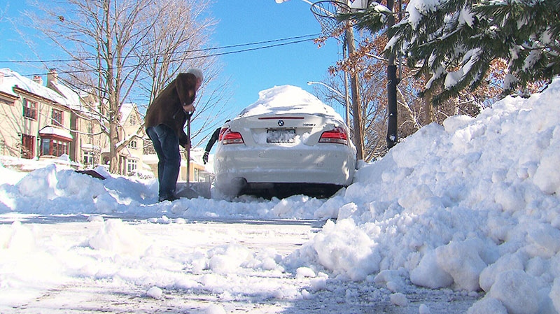 The storm dumped about 26 centimetres of snow on the city between Thursday night and late Friday afternoon, burying both main arteries and side streets in plenty of the white stuff.