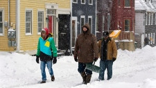 Halifax snowstorm Feb. 9,2013