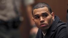 Chris Brown, paparazzi, crash