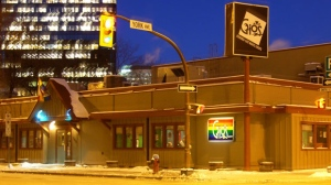The bar, located at 166 Smith St., was well-known for its embracement of the GLBT community in Winnipeg. Photo courtesy Brent Young.