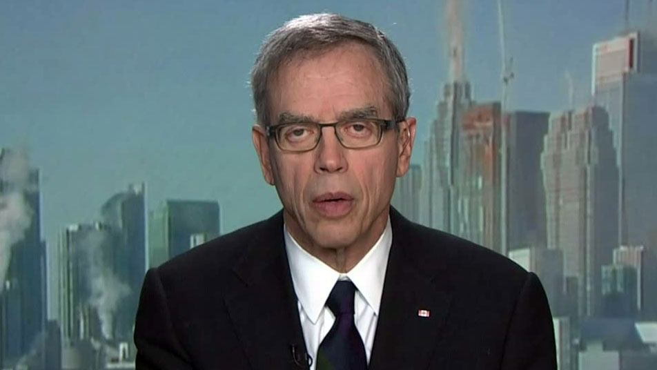 Natural Resources Minister Joe Oliver appears on CTV's Question Period on Sunday, Feb. 10, 2013.