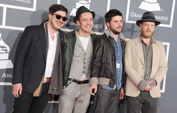 Mumford & Sons at Grammys