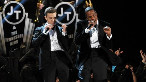 Justin Timberlake Grammys