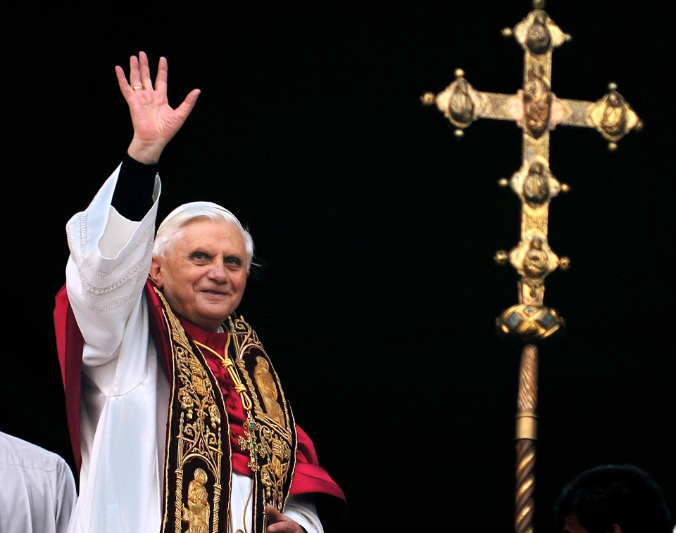 Pope Benedict XVI announced Monday that he would resign Feb. 28 -- the first pontiff to do so in nearly 600 years. The decision sets the stage for a conclave to elect a new pope before the end of March.