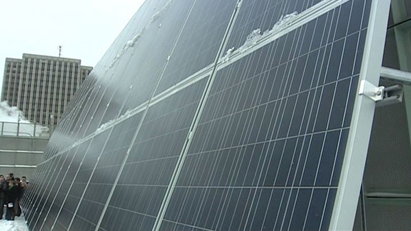 City Benefits From Solar Panel Pilot Project Ctv Ottawa News
