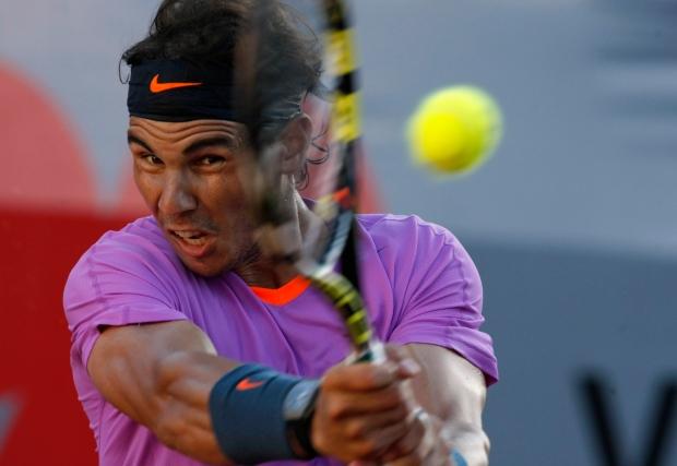 Rafael Nadal on Feb. 10, 2013.