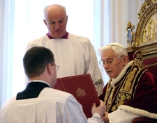 Pope today resigns full coverage