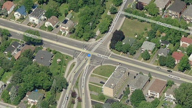 bicycle accident in longueuil