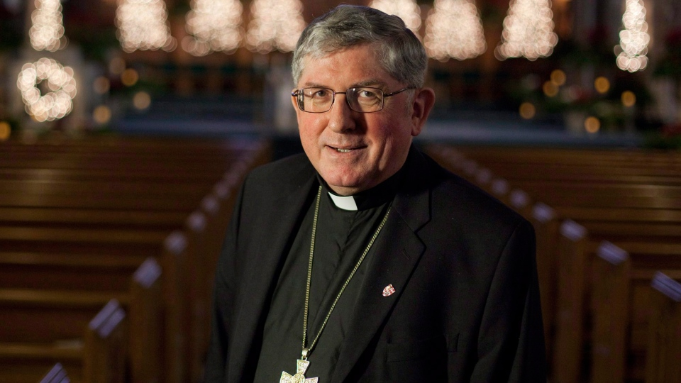 Cardinal Thomas Collins is the youngest of Canada's cardinals, known for being energetic but conservative.