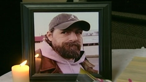 Kevin Vigar died in a Victoria police cell in June 2009. (CTV)