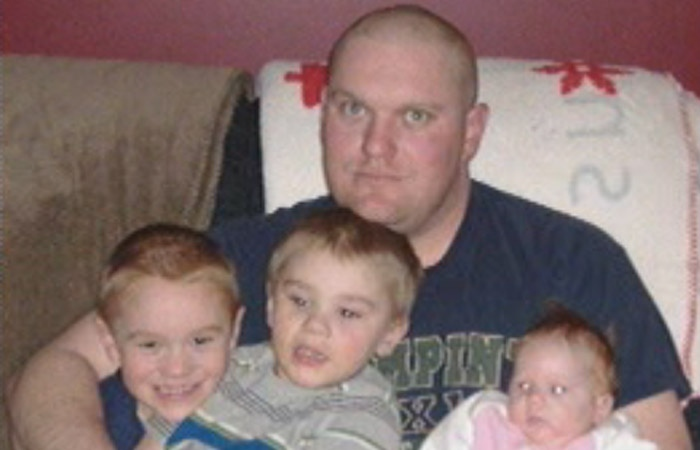 Darren Spence, 37, was an experienced crop dusting pilot, said friends. Spence, his two sons and one of their friends died in the crash near Waskada, Man. on Feb. 10, 2013. (image courtesy Facebook)