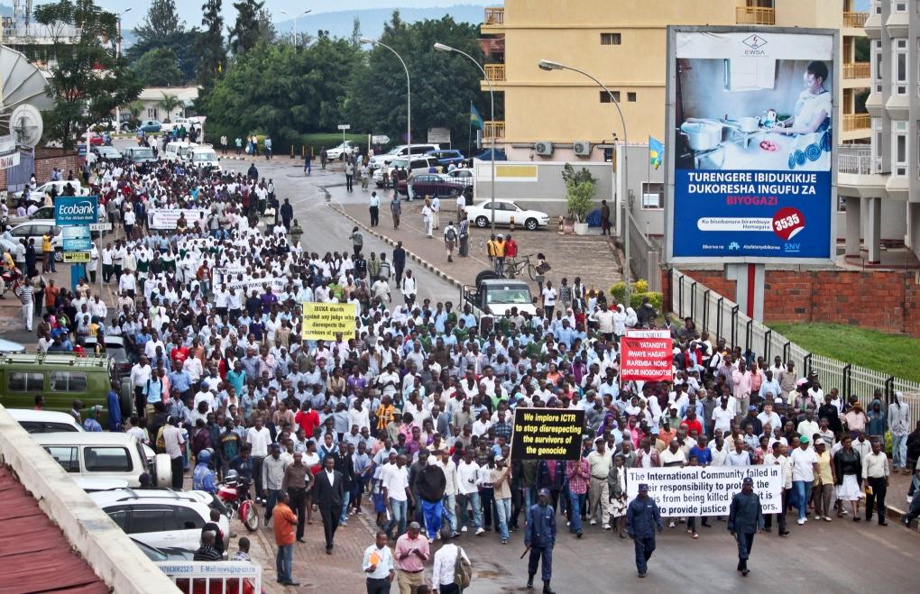 Rwanda march
