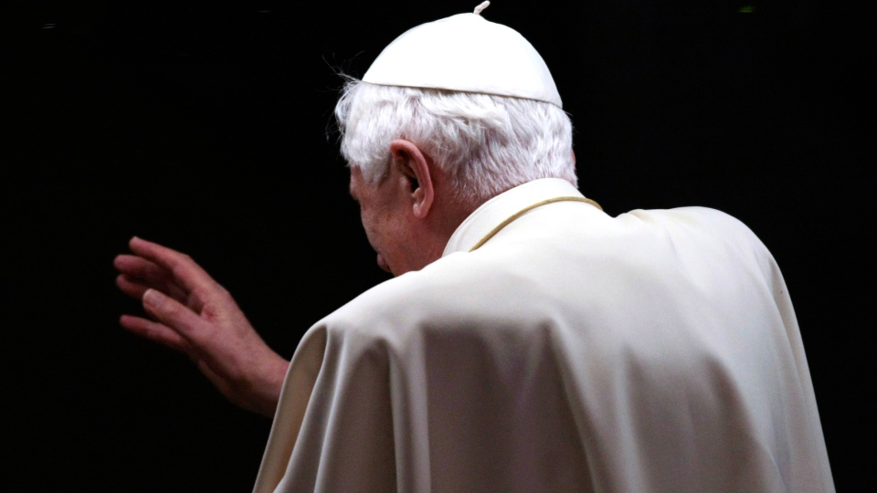 Pope Benedict XVI stunned cardinals Monday by announcing he is no longer able to fulfil his duties due to age and failing health, and is stepping down at the end of the month.
