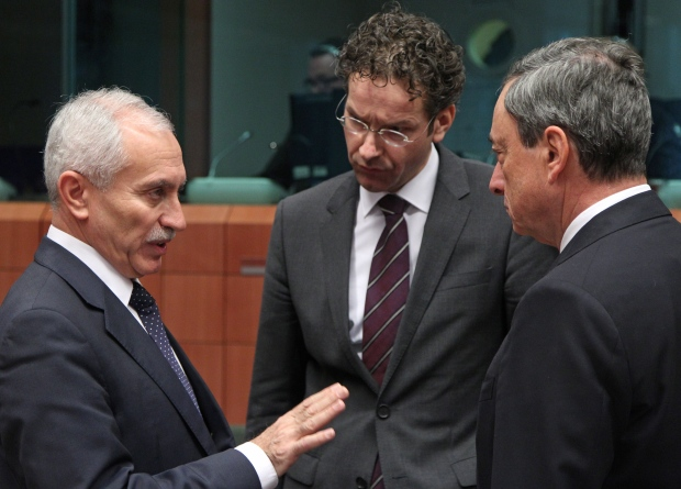 Eurogroup meeting in Brussels