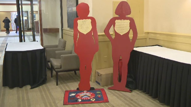 Silent Witness Nova Scotia will unveil four silhouettes Monday night in memory of four women murdered by their partners. The silhouettes will be taken to different locations around the province to raise awareness about the issue.