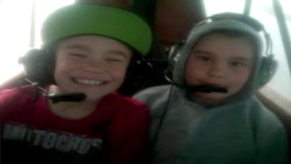 Gage and Logan Spence were two of the four passengers killed in a plane crash near Waskada, Man.