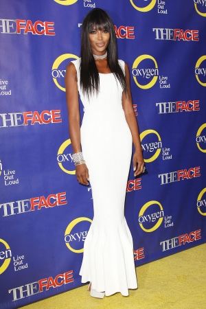 Naomi Campbell at the premiere of 'The Face' in New York. (Starpix / Kristina Bumphrey)