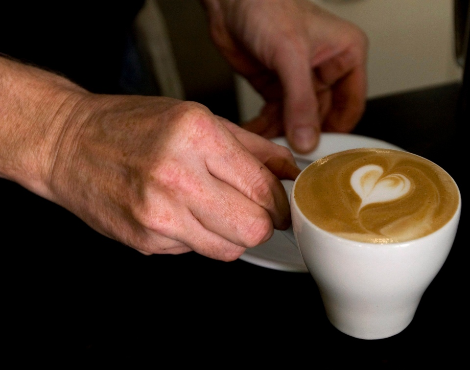 A fancy cappuccino is shown at Toronto's Bulldog Coffee shop in this 2008 file photo. (Nathan Denette/THE CANADIAN PRESS)