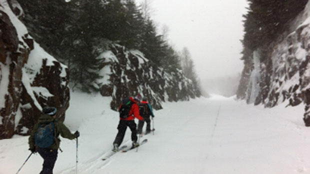 Undated file photo of backcountry skiers in Wentworth Valley, Nova Scotia. (Kodiac Valley Mountain Adventures)