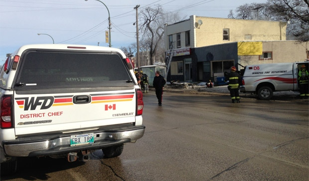 Main Street fire