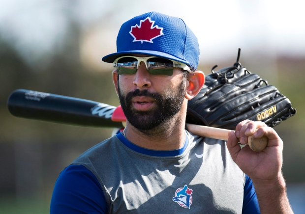 Jose Bautista Toronto Blue Jays spring training