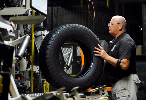 Michelin manufacturing plant in Greenville, S.C.