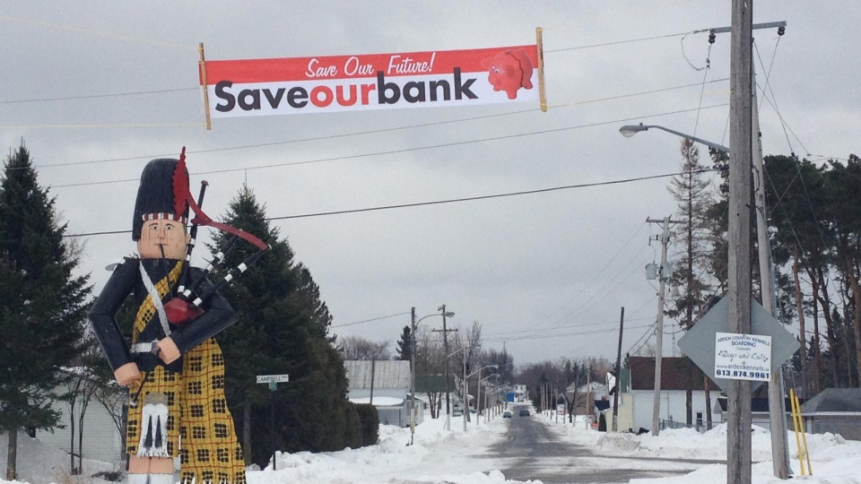 Residents launch SOS campaign to save their bank