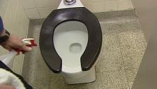 toilet, school, burn