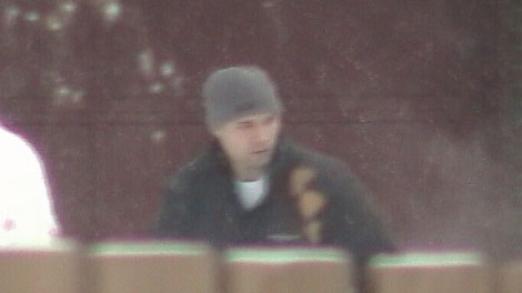 RCMP Const. Geoff Mantler was caught on video kicking a man in the face during an arrest in Kelowna. Jan. 12, 2011. (CTV)