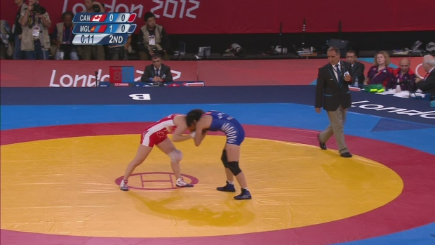 Olympic wrestling