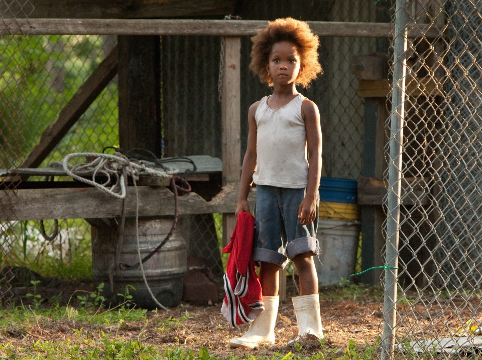 Quvenzhane Wallis portraying Hushpuppy in a scene from Fox Searchlight Pictures' 'Beasts of the Southern Wild'