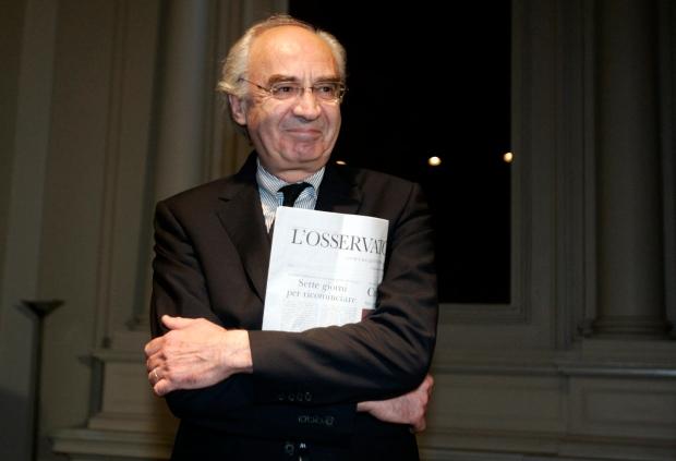 Ettore Gotti Tedeschi on Sept. 28, 2010.