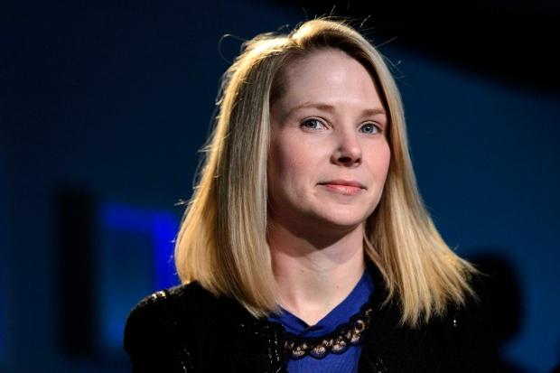Yahoo CEO Marissa Mayer on Jan. 25, 2013.