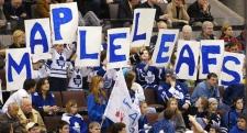 Leaf fans in Ottawa