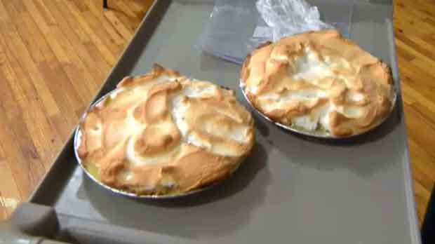 Mary's pies are made from scratch and are in big demand.