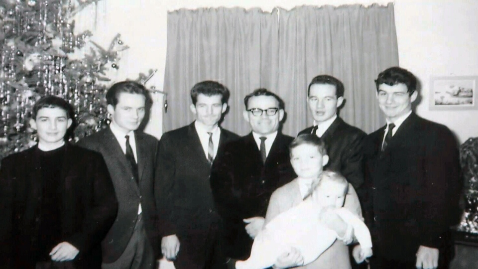Marc Cardinal Ouellet is one of eight siblings seen here in this photo provided to CTV News.