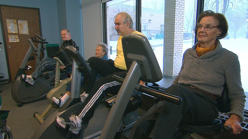 Canadian research suggests that the effect of exercise in those over 50 can reduce the risk of developing mental illness.