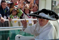Pope Benedict XVI in Silao, Mexico, March 25, 2012